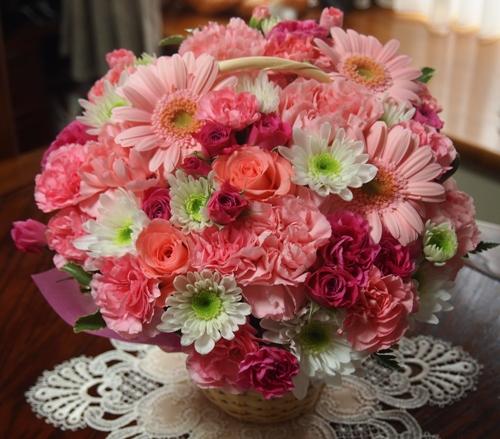 お誕生日のお花1