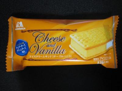 アイスクリームサンドチーズ&バニラ