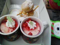 クリスマスミルクプリン&シュー