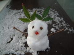 雪だるま 2007.11.19