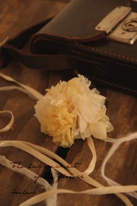 発表会 花飾り 001