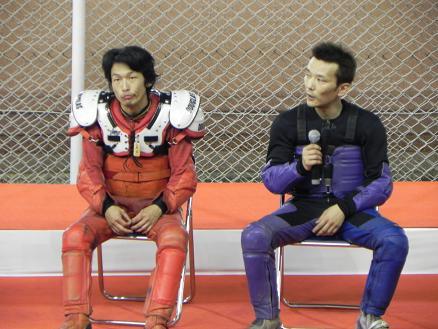 10R優出インタビュー