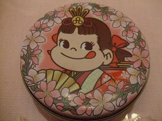 ペコちゃんミニ缶