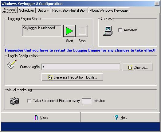 Windows Keylogger 5.04