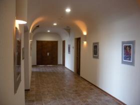 霊安室入口