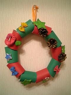 いろりん作 クリスマスリース