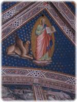 聖具室のフレスコ画