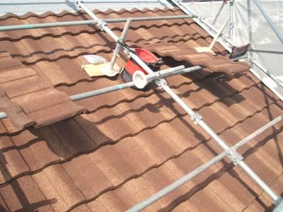屋根がついた
