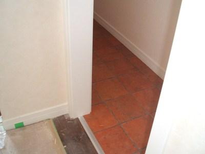 洗濯室の床