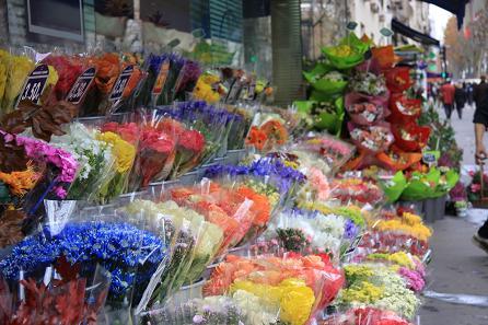 街角の花屋