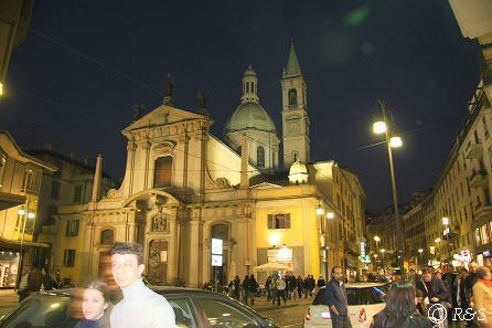 トリノ通りの夜景1