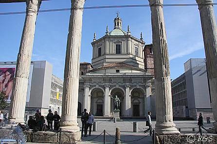 サン・ロレンツォ・マッジョーレ教会1