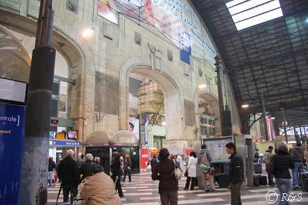 ミラノ中央駅ホーム5