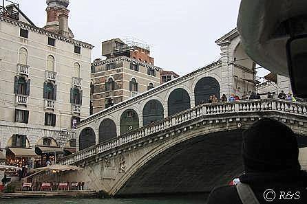 カナルグランデのリアルト橋1
