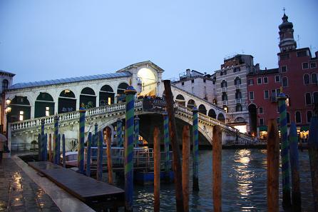 リアルト橋の夜景1