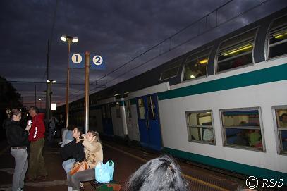 マナローラ駅の様子1