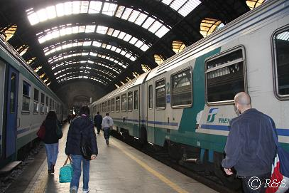 ミラノ中央駅到着1