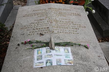 モジリアーニの墓2