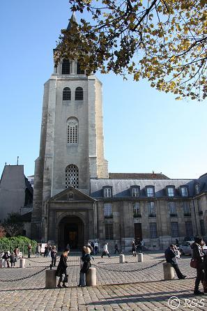 サン・ジェルマン・デ・プレ教会2
