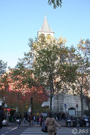 サン・ジェルマン・デ・プレ教会1