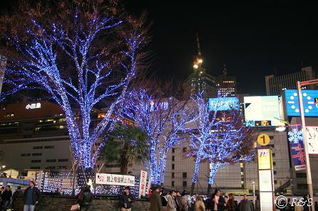 新宿駅イルミネーション1IMG_4167