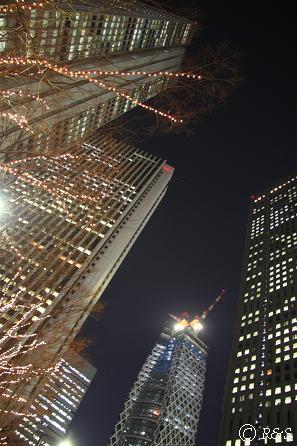 新宿ビル・イルミネーション3IMG_3924