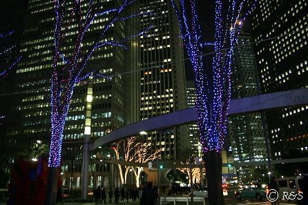 新宿ビル・イルミネーション6IMG_4192