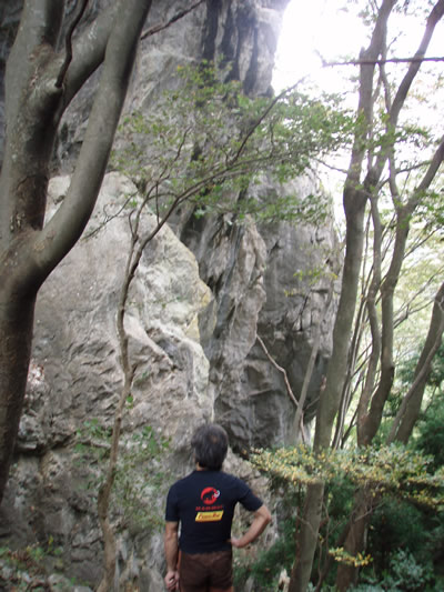 どこかな石灰岩