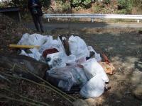 広沢寺清掃集会2008ゴミ2
