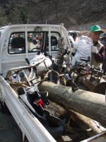 広沢寺清掃集会2008ゴミ1