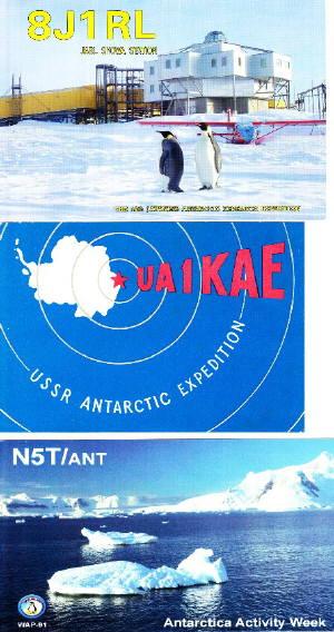 こんなカード 南極