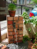 レンガ立水栓10