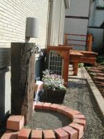 枕木立水栓2