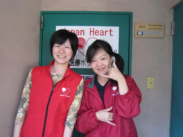 長期ボランティア看護師