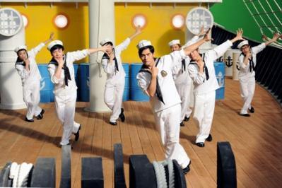 shuishou dance