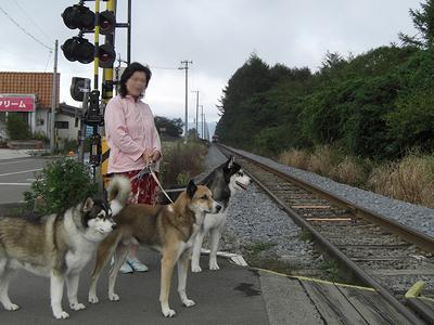 清里駅方面から大泉駅方面へ