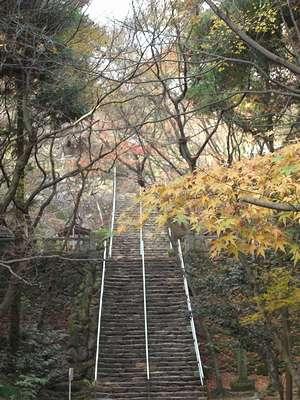 根香寺の階段