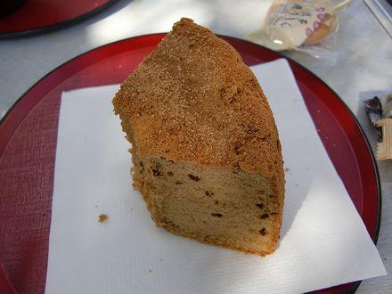 すずままさんお手製のシフォンケーキ