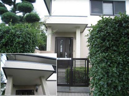 【施工事例vol.56】施工後:玄関庇の拡張リフォーム