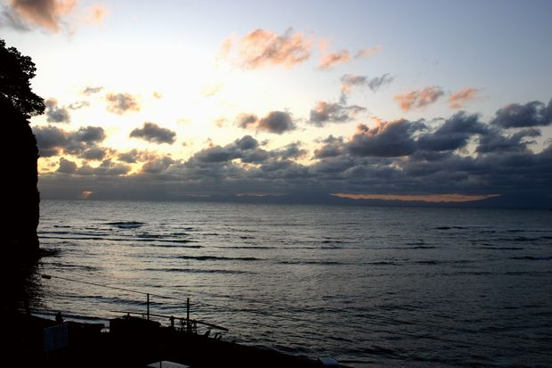 オホーツク海の夜明け4