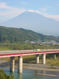 ちこに会った日の富士山