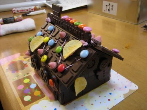 チョコの家②