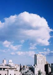 ふんわり雲