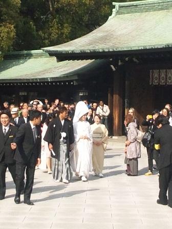 明治神宮結婚式