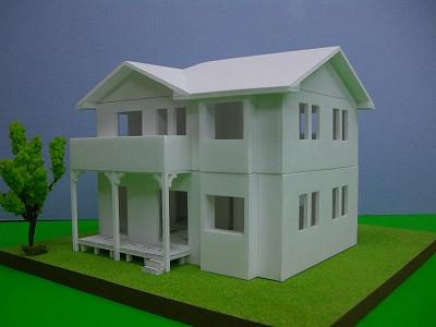 鎌田工務店モデルハウス模型