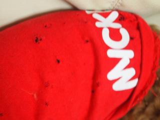 ミッキーのボロ服。