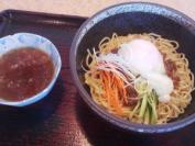 めん吉西帯広店 十勝牛じゃん麺(平打ち)