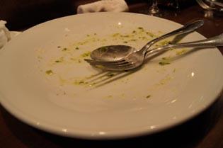 ルマーケからっぽの皿