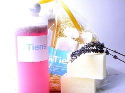 石鹸とラベンダー酢