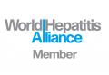 世界肝炎アライアンス加盟組織のロゴマーク